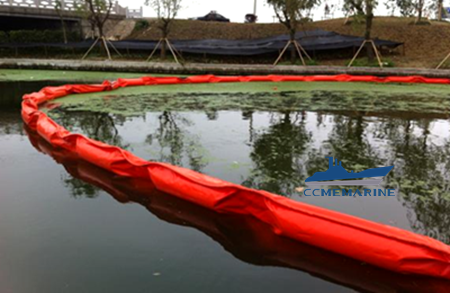 Oil Spill Containment Boom Solid Float PVC Oil Spill Boom