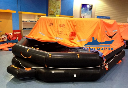 Marine Solas Throw-Over Board Type Inflatable Life Raft