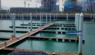 Rotomolded Plastic Floating Pontoon Marina Floating Dock