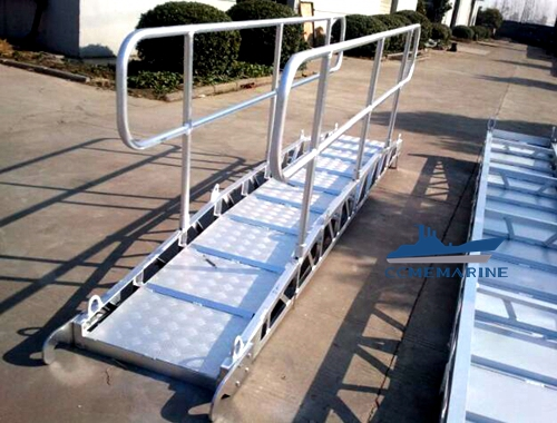 Marine Engine Room Inclined Ladder Marine Gangway Ladder