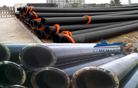 Differences between steel dredging pipe and PE dredging pipe