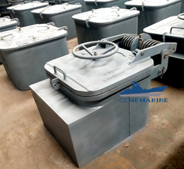 Marine Galvanized Steel Aluminum Oil Tight Hatch Cover